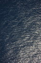 Royalty Free Photo of a High Angle View of Ocean Water Ripples