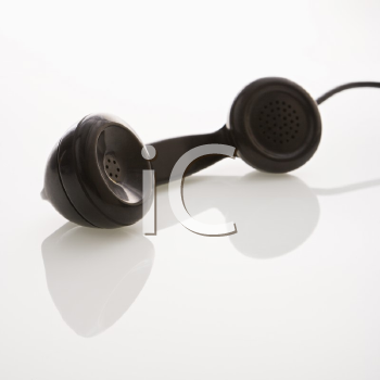 Royalty Free Photo of a Telephone Receiver