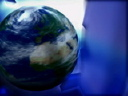 Royalty Free Video of a Spinning Globe