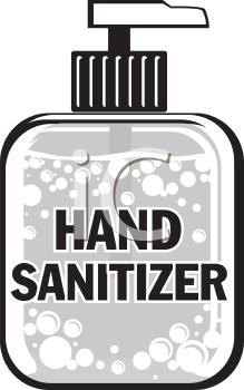 Bath Body Works Gel Antibacterial Hand Sanitizer Clipart Do not shake hands sign, social distancing. hand sanitizer clipart