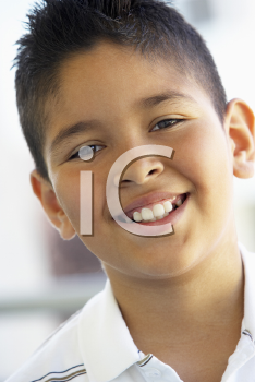 Royalty Free Photo of a Smiling Boy
