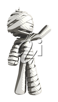 Mummy or Personal Injury Concept Waving