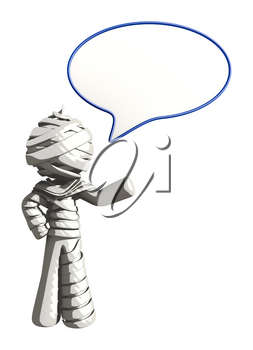 Mummy or Personal Injury Concept Word Bubble
