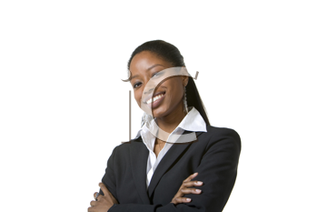 Royalty Free Photo of a Black Businesswoman