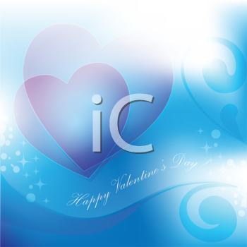 Royalty Free Clipart Image of a Valentines Background