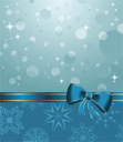 Illustration Christmas background or holiday packing - vector