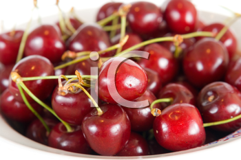 Royalty Free Photo of a Bowl of Cherries