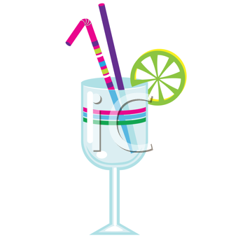 Royalty Free Clipart Image of a Drink