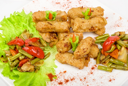 Royalty Free Photo of an Oriental Appetizer