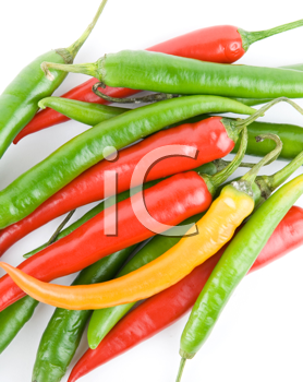 Royalty Free Photo of Chili Peppers