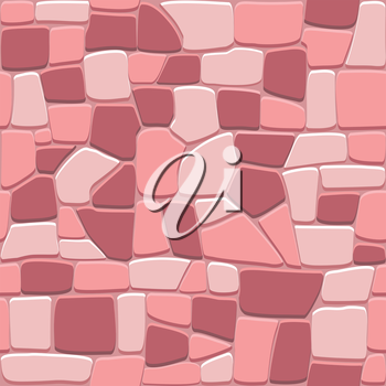 Stone wall background in seamless format for backdrop design
