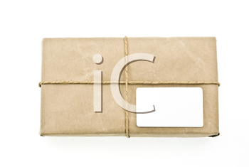 Royalty Free Photo of a Carton Box Post Package