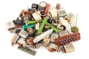 Old electronic components