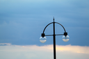 Royalty Free Photo of a Street Light