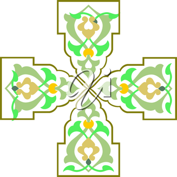 Royalty Free Clipart Image of a Celtic Cross
