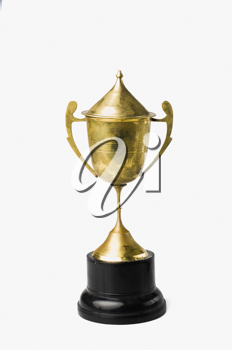 Close-up of a trophy