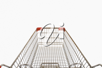 Close-up of a shopping cart