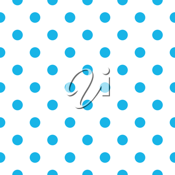 Royalty Free Clipart Image of a Polka Dot Background
