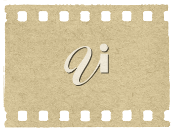 Royalty Free Clipart Image of a Film Background