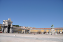 Royalty Free Photo of the Statue of King Jos� I, in Terreiro do Pa�o in Lisbon, Portugal