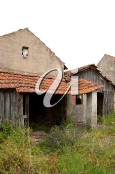 Royalty Free Photo of an Abandoned House