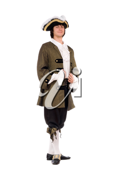 Royalty Free Photo of a Man in Historical Clothes
