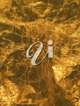 Gold foil for surface