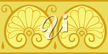 Royalty Free Clipart Image of a Shell Design