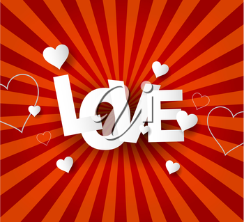 Love Abstract  background