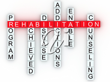 Royalty Free Clipart Image of a Medical Message