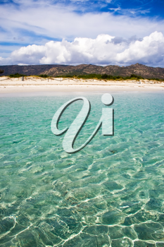 Royalty Free Photo of a Beach in Sardinia Italy