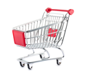 Royalty Free Photo of an Empty Shopping Cart