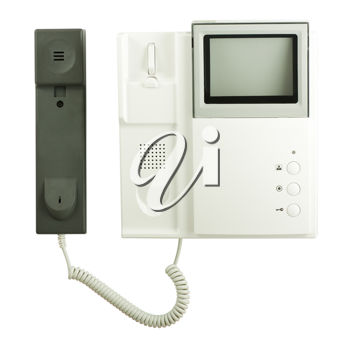 Royalty Free Photo of an Intercom System