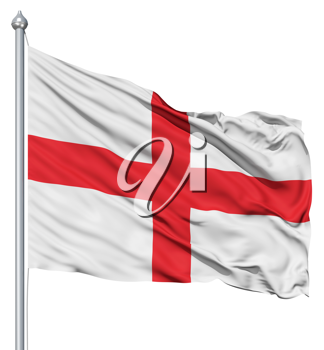 Royalty Free Clipart Image of the Flag of England