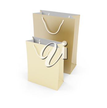 Royalty Free Clipart Image of Gift Bags