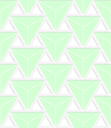 Colored 3D green triangles with grid.Seamless geometric background. Modern 3D texture. Pattern with realistic shadow and cut out of paper effect.