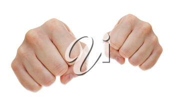 Royalty Free Photo of Fists