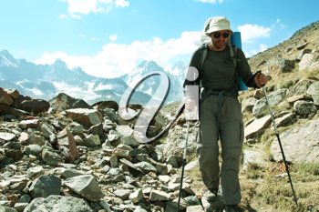 Royalty Free Photo of a Hiker