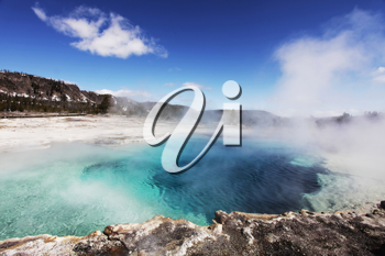 Royalty Free Photo of a Hot Spring