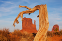 Royalty Free Photo of Monument Valley in Utah, USA