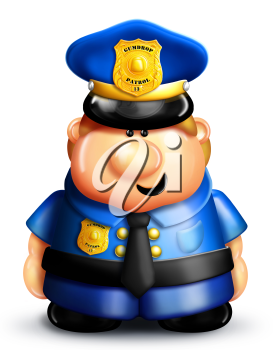 Royalty Free Photo of a Policeman