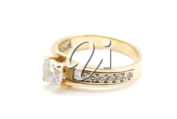 Royalty Free Photo of an Engagement Ring