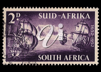 Royalty Free Photo of a South African Stamp