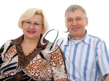 Royalty Free Photo of an Elderly couple