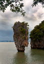 Royalty Free Photo of the James Bond Island in Thailand