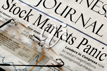 Royalty Free Photo of a Newspaper