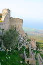 Royalty Free Photo of Kantara Castle in Northern Cyprus