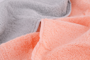 Colorful towels texture as a background, closeup picture.