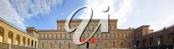Palazzo Pitti one of the most famous palaces in Florence. Italy