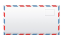 Royalty Free Photo of an Airmail Envelope